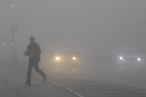 Met Office issue county-wide fog warning