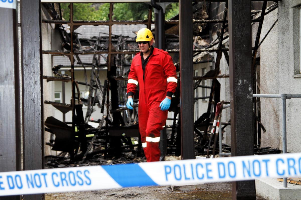 Latest: Residents praised for pulling together after massive blaze ...