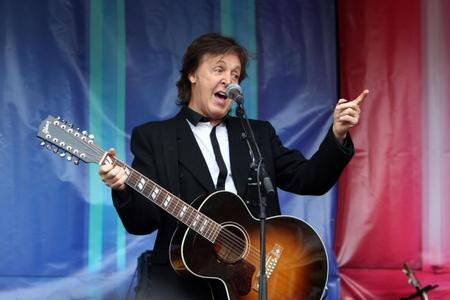 HEADLINER: Sir Paul McCartney could be Somerset bound