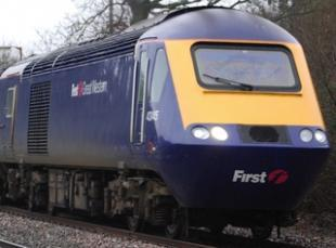 First Great Western high-speed train