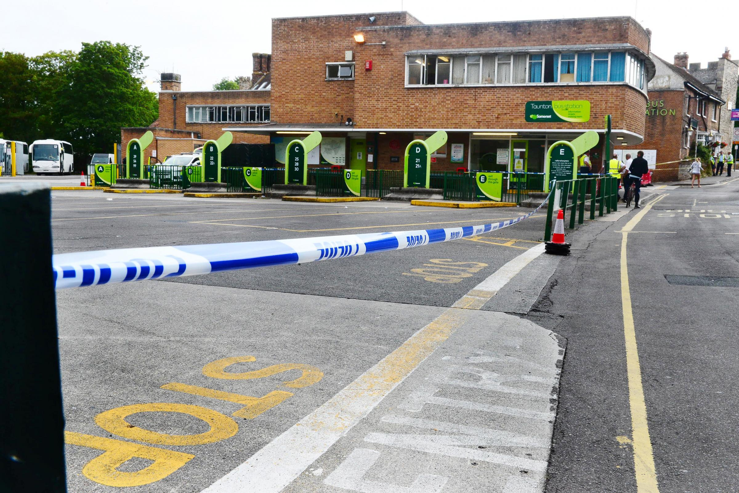 ARREST: Man, 36, arrested in connection with death of man near Taunton Bus Station