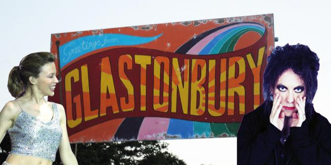 HEADING TO GLASTO?: Kylie and The Cure make our rumours list...