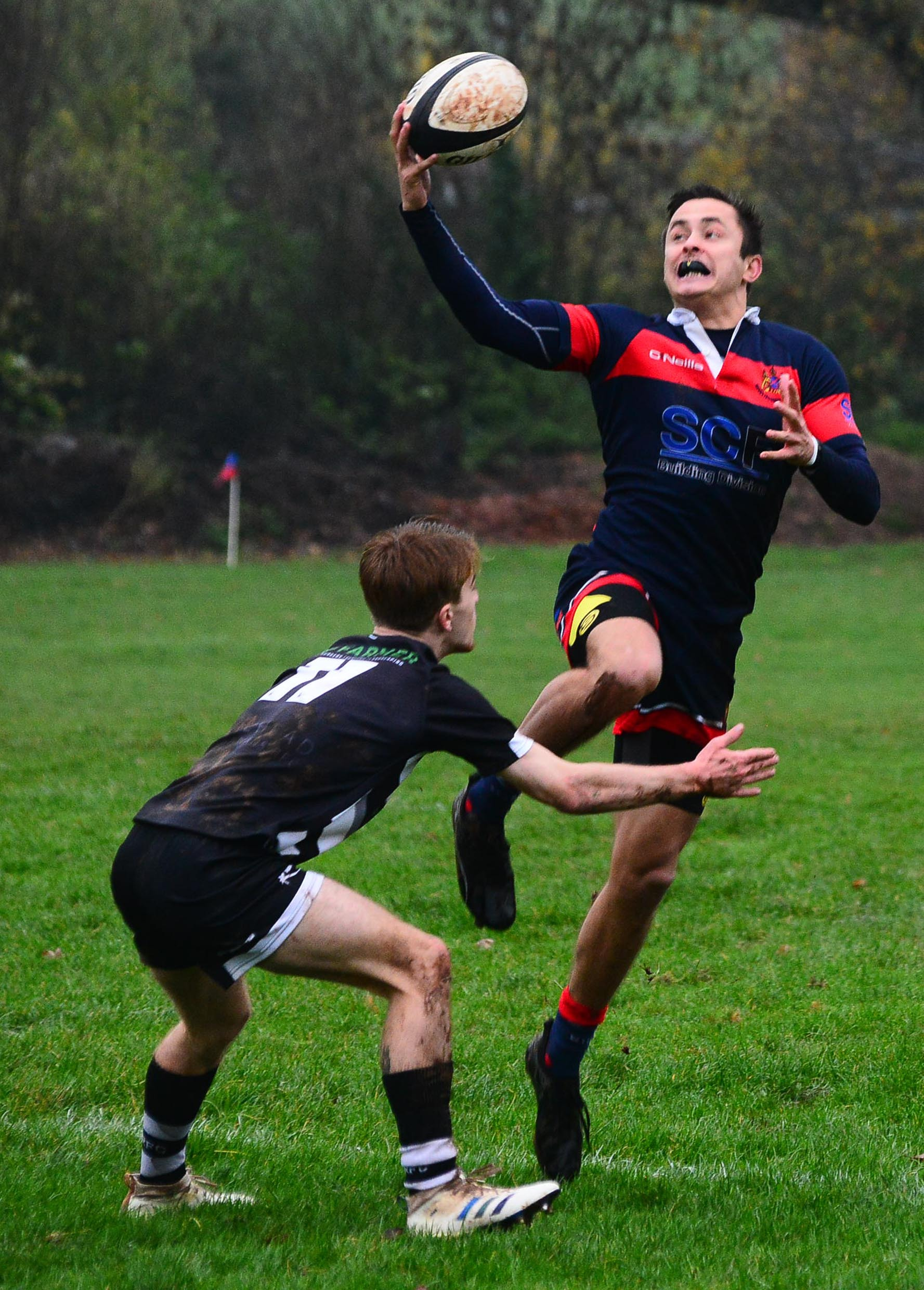 ON SONG: Jake Sharland was unstoppable for Wiveliscombe against Yatton on Saturday. Pic: Steve Richardson
