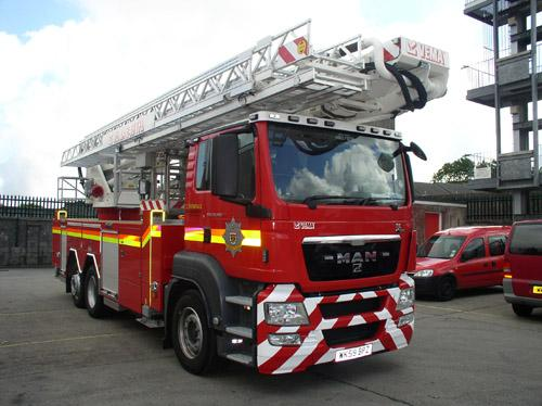 Fire crew attended incident in Perranporth