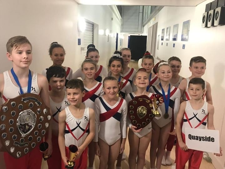 SUCCESS: Quayside gymnasts have made their mark on the local, national and international scene.