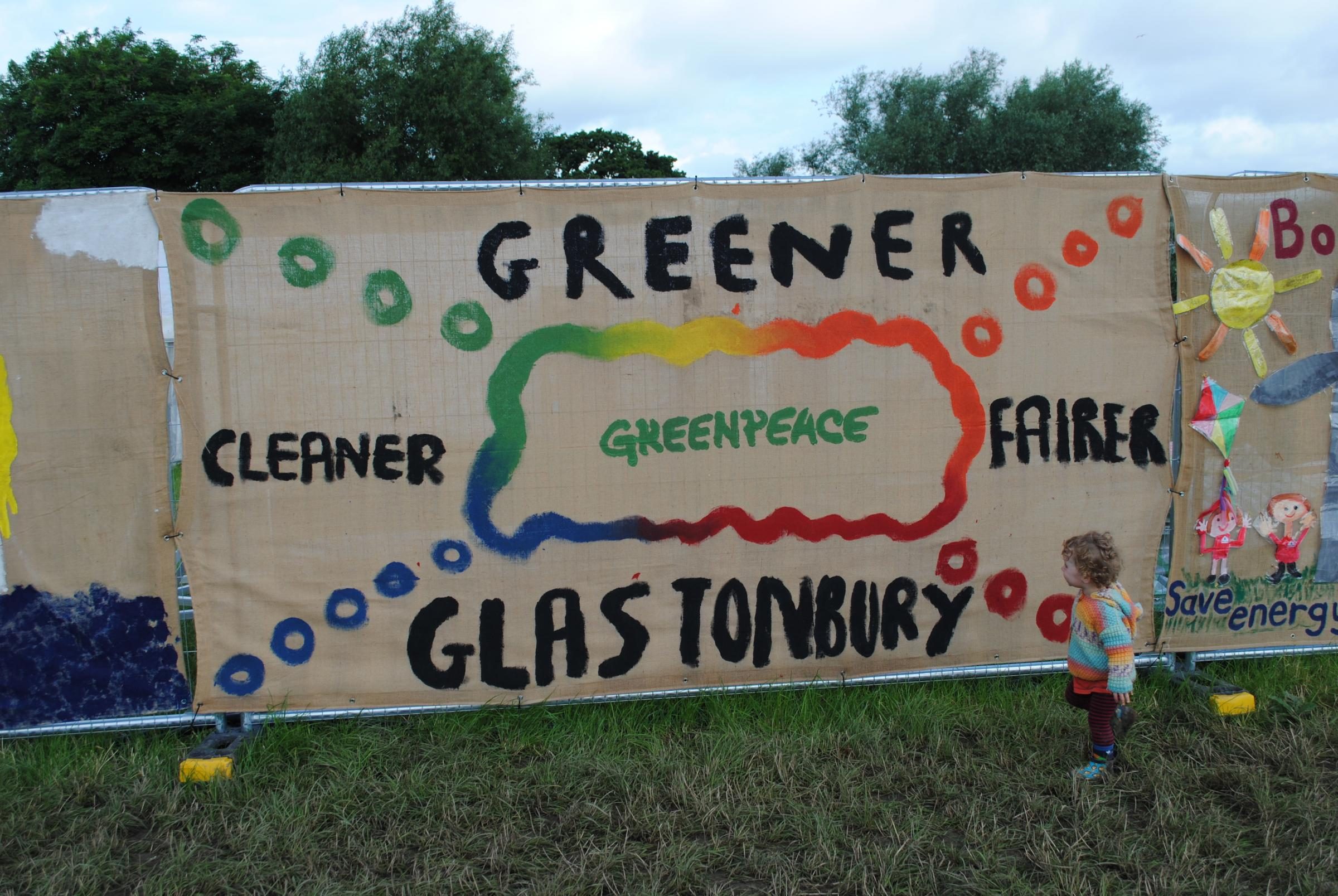 GOOD CAUSES: The Glastonbury Festival gives to a range of charities and initiatives