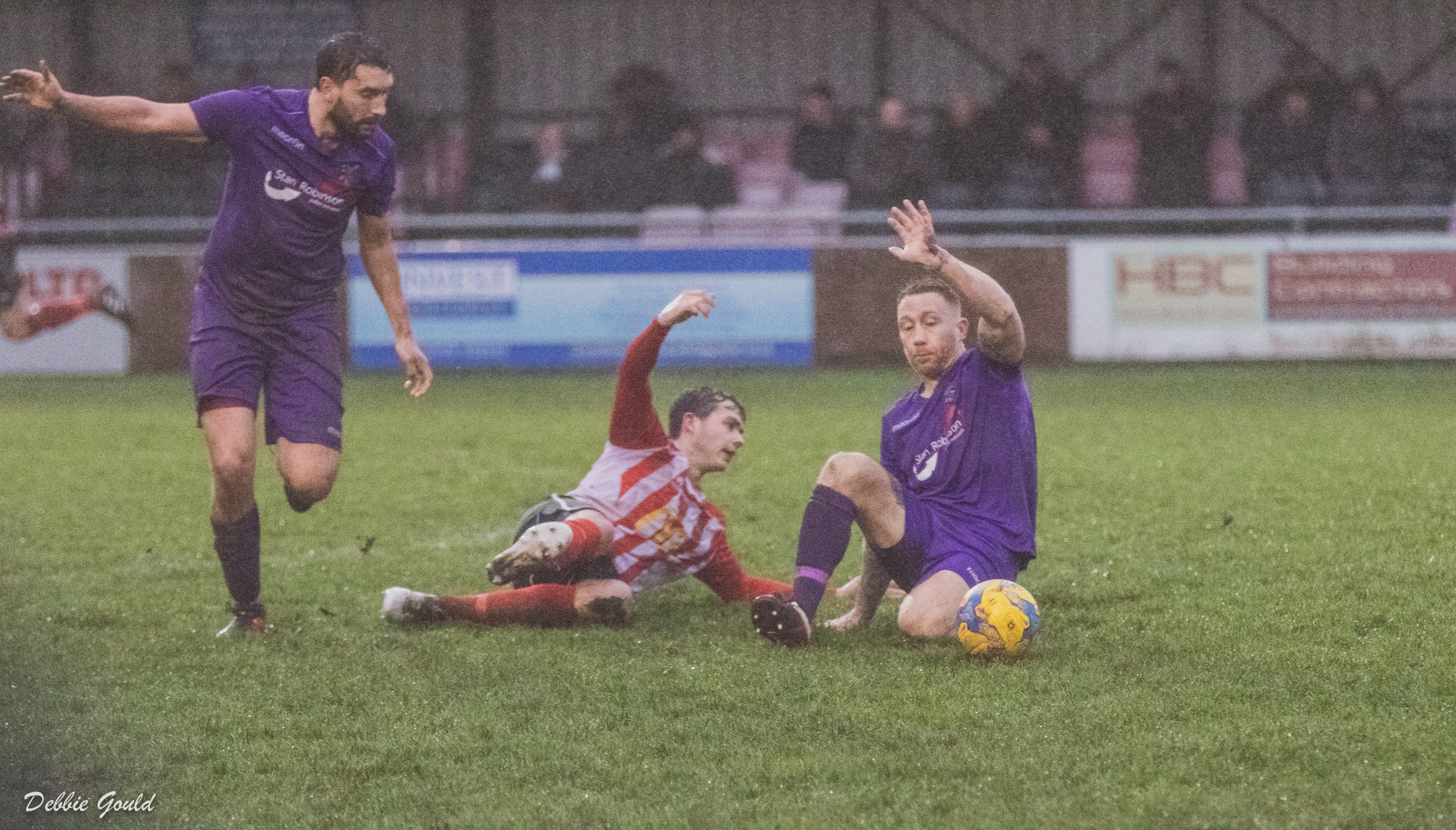 SEMI-FINAL: Bridgwater Town and Willand Rovers go head to head. Pic: Debbie Gould