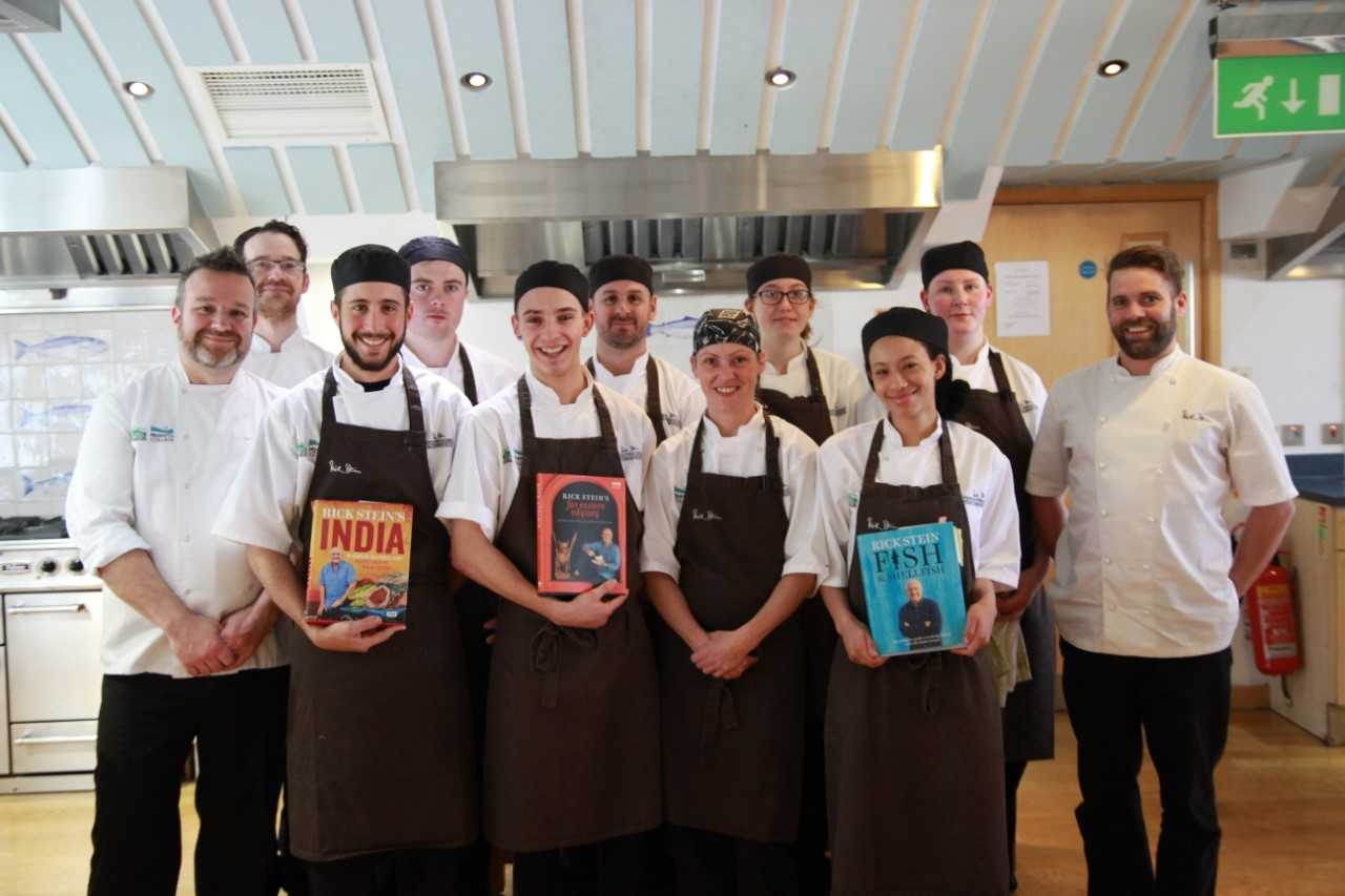 The tenth group of Rick Stein apprentices to complete their training with Truro and Penwith College