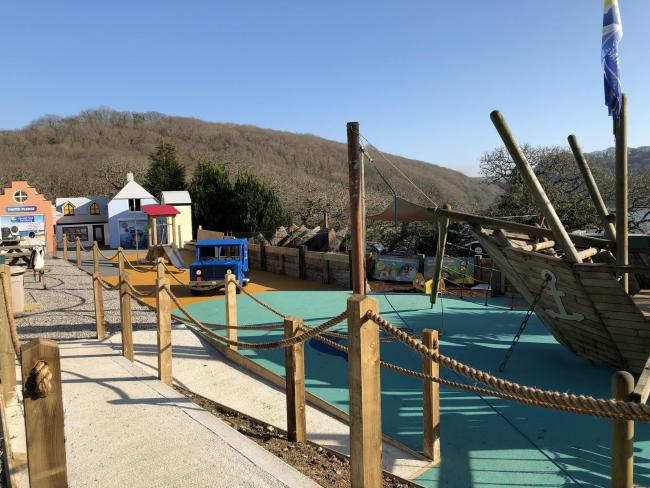 The new Discovery Cove Playground at the Cornish Seal Sanctuary in Gweek