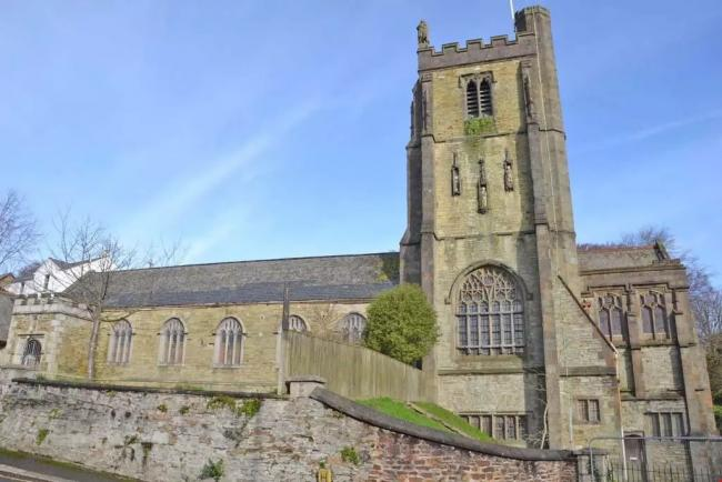 St Paul's Church in Truro is up for sale. Photo: Lillicrap Chilcott