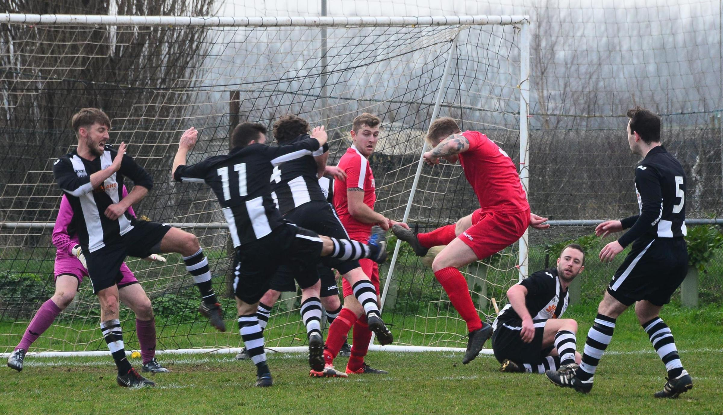 CLOSE: Middlezoy Rovers and Middlezoy Reserves are both in good form going into the end of the season. Pic: Steve Richardson