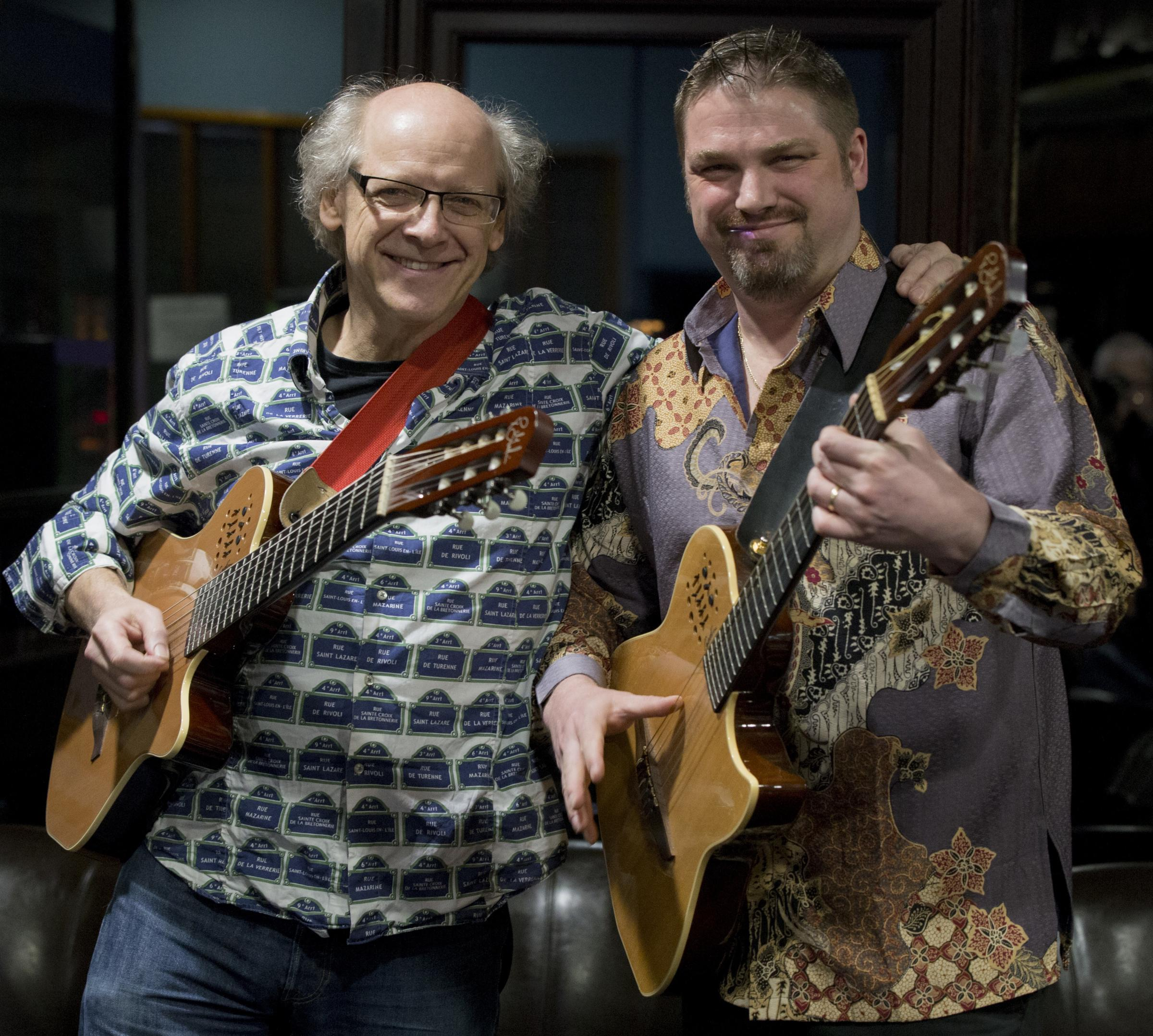 GUITAR PERFECTION: Pete and Nick return to Ilminster Arts Centre