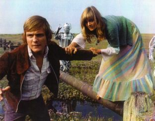 Anneke Wills, who played Polly, for the first and second Dr Who's