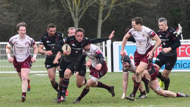 BIG WIN: Freddie Fraser - on the scoresheet for Taunton Titans at Guernsey