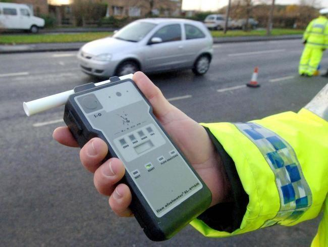 DON'T DO IT: Make sure you're not over the limit if driving over the festive season