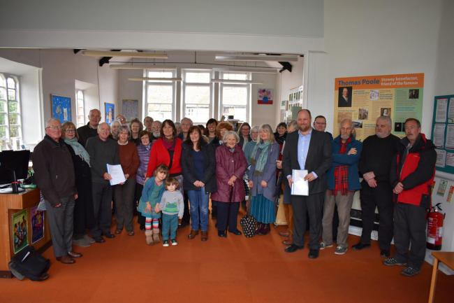 DEVELOPMENT: Nether Stowey Library was saved from closure earlier this year
