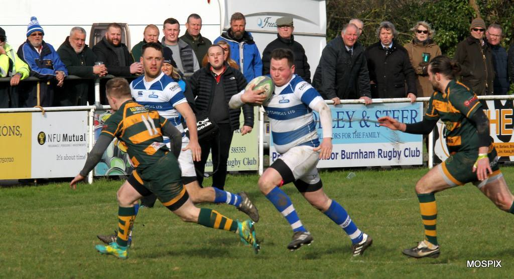 Burnham-on-Sea RFC v Imperial. Pic: Mo Hunt