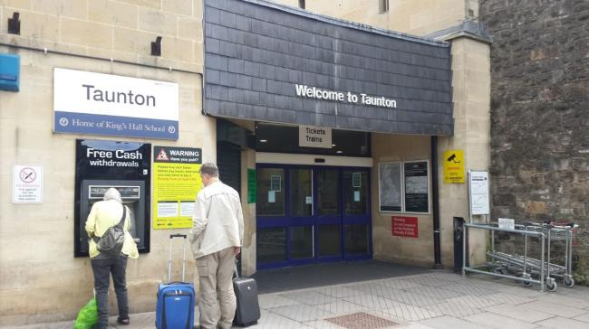 MULTI-MILLION SCHEME: Drivers arrving at Taunton Station advised to allow more time
