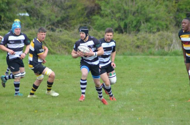 ON FORM: Damian Griffin, who played a starring role in North Petherton's win last Saturday. Pic: Chris Hancock