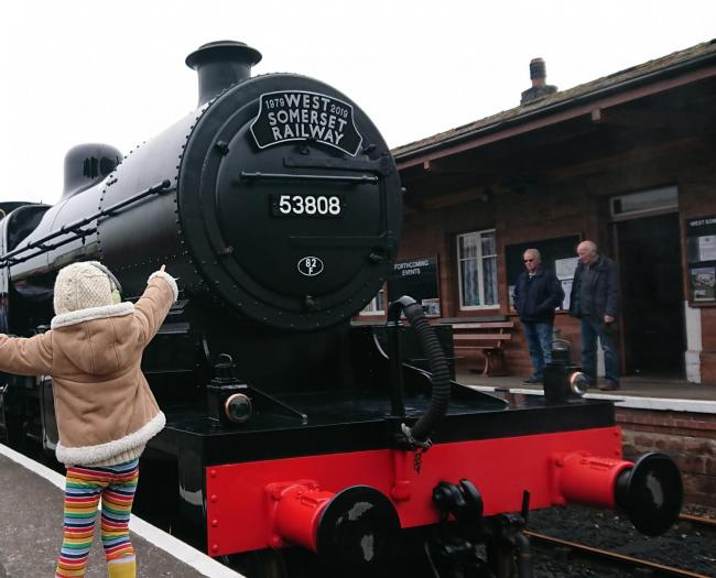 ON TRACK?: West Somerset Railway is facing financial difficulties
