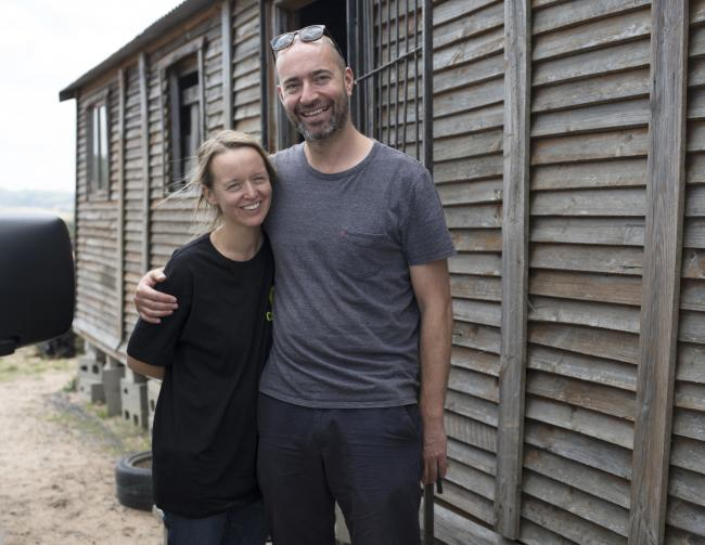 PATRONS: Emily Eavis and Nick Dewey are backing the Winston's Wish charity