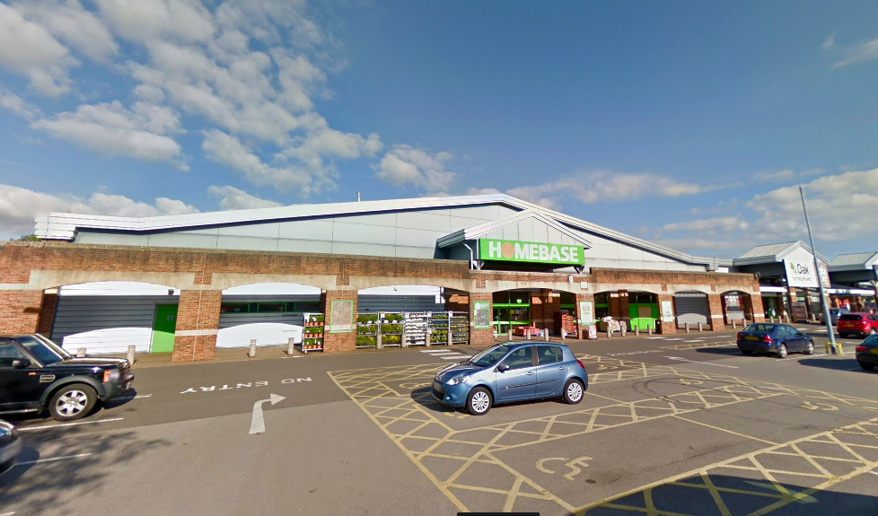 NEW SUPERSTORE: The former Homebase store in Yeovil is being redeveloped. PICTURE: Google Street View