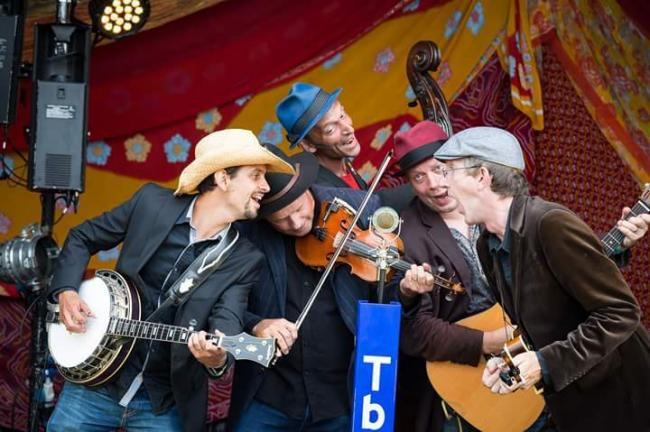 HOME: Thunderbridge Bluegrass Band returns to Taunton for a one-off concert Photo: Helen Jones