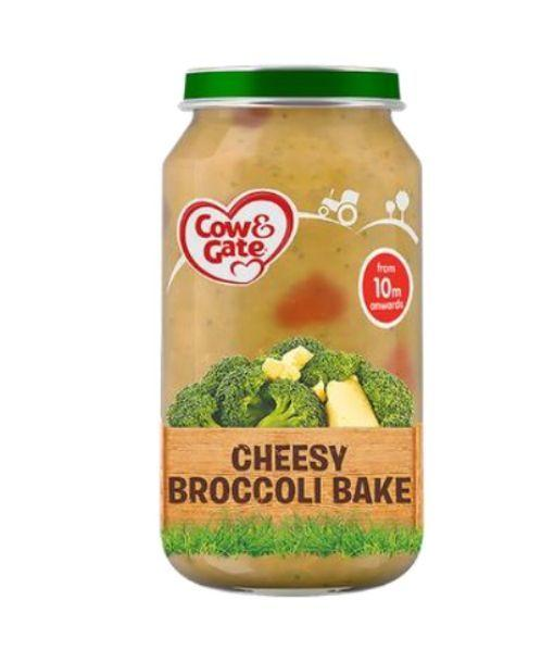 Some jars of Cow & Gate Cheesy Broccoli Bake Stage 3 (10+ months) have been withdrawn
