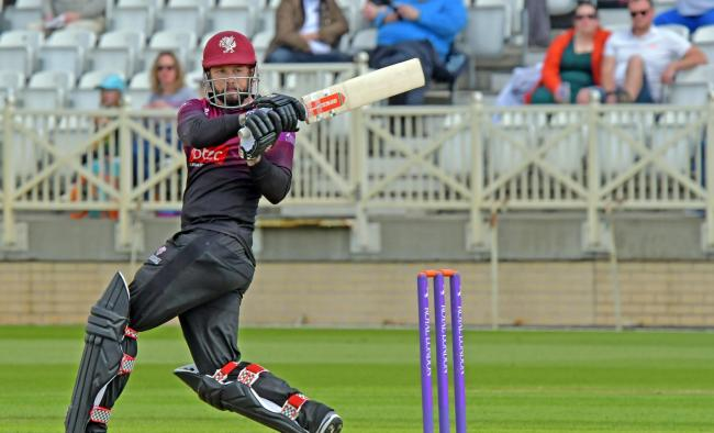 BIG NAMES: Peter Trego is one of several Somerset stars expected to play West of England Premier League matches this weekend. Pic: Alain Lockyer/SCCC