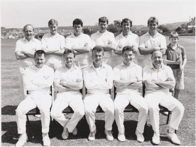 This week's photograph is of the Redruth cricket team, taken in May 1990