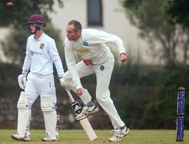 Helston beat Launceston by four wickets on Saturday. Picture by Colin Higgs