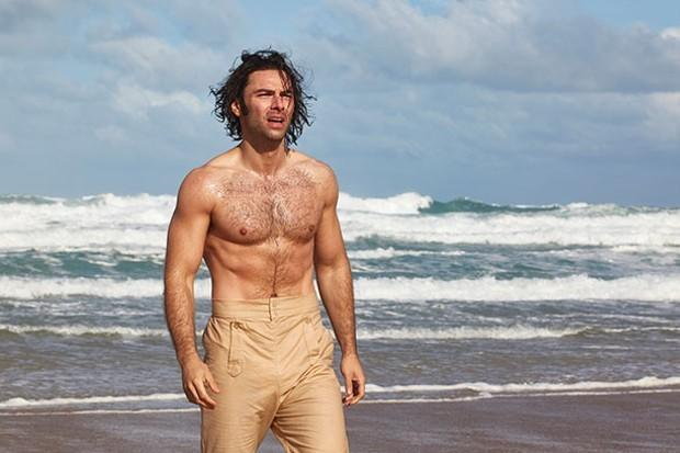 Aidan Turner, star of Cornish drama Poldark