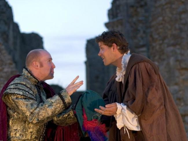 SHAKESPEARE: Groundlings Theatre Company present classic plays at Glastonbury Abbey