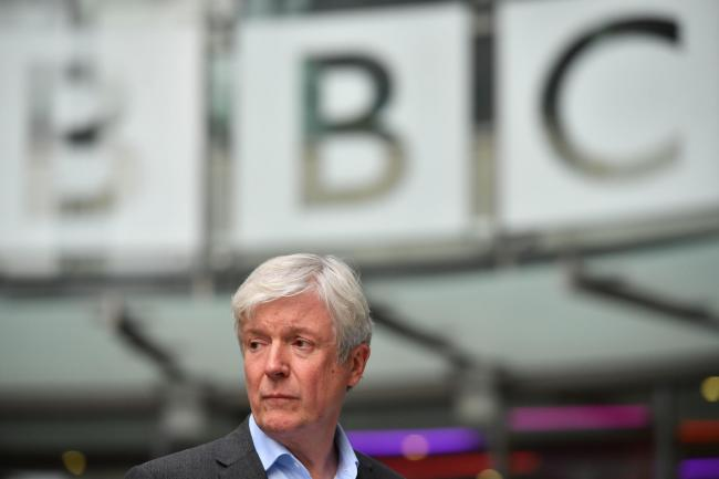 ANNOUNCEMENT: Director-General of the BBC, Tony Hall. PICTURE: Ben Stansall/PA Wire